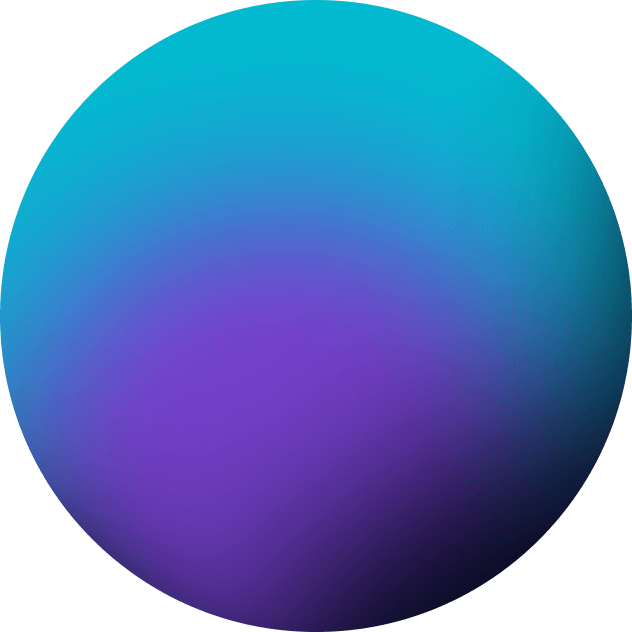 blue circle - Graphic Design Solutions