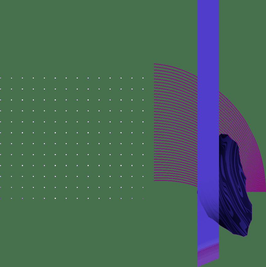 dots rays rectangle flow - Web Design