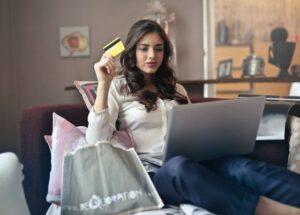 Big spender captured through e-commerce marketing strategies.