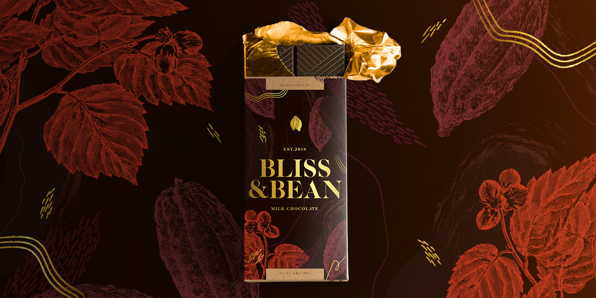 BLISS   BEAN PRODUCT DISPLAY - Bliss & Bean