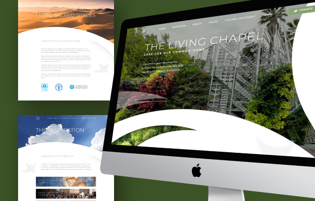 Living Chapel Thumbnail - Graphic Design Solutions