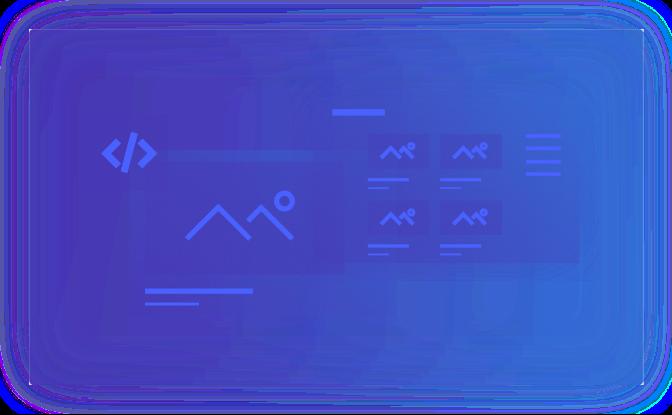 Web Design and Development Illustration - Web Design